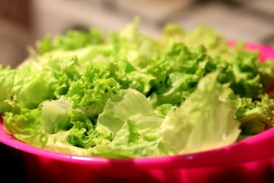 preparar refeições para a semana - salada