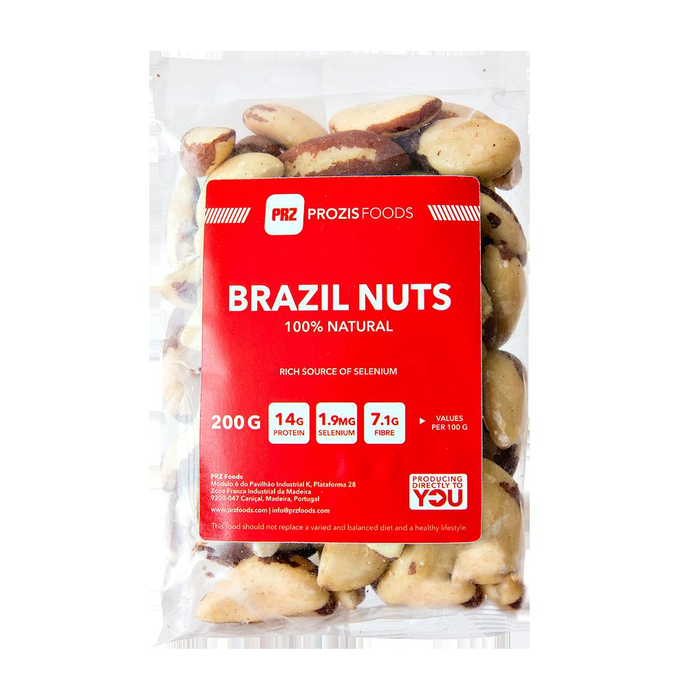 Frutos secos. Castanha do brasil