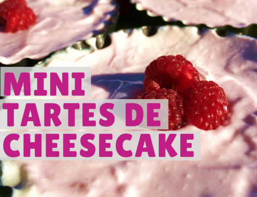 mini tartes de cheesecake saudável