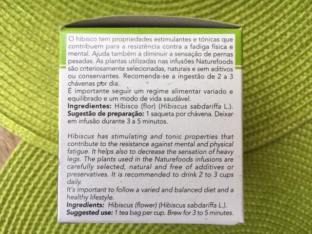 chá hibisco indicações- perder gordura