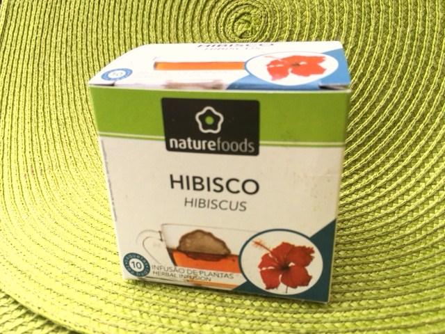 chá hibisco - perder gordura