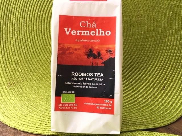 chá vermelho - perder gordura