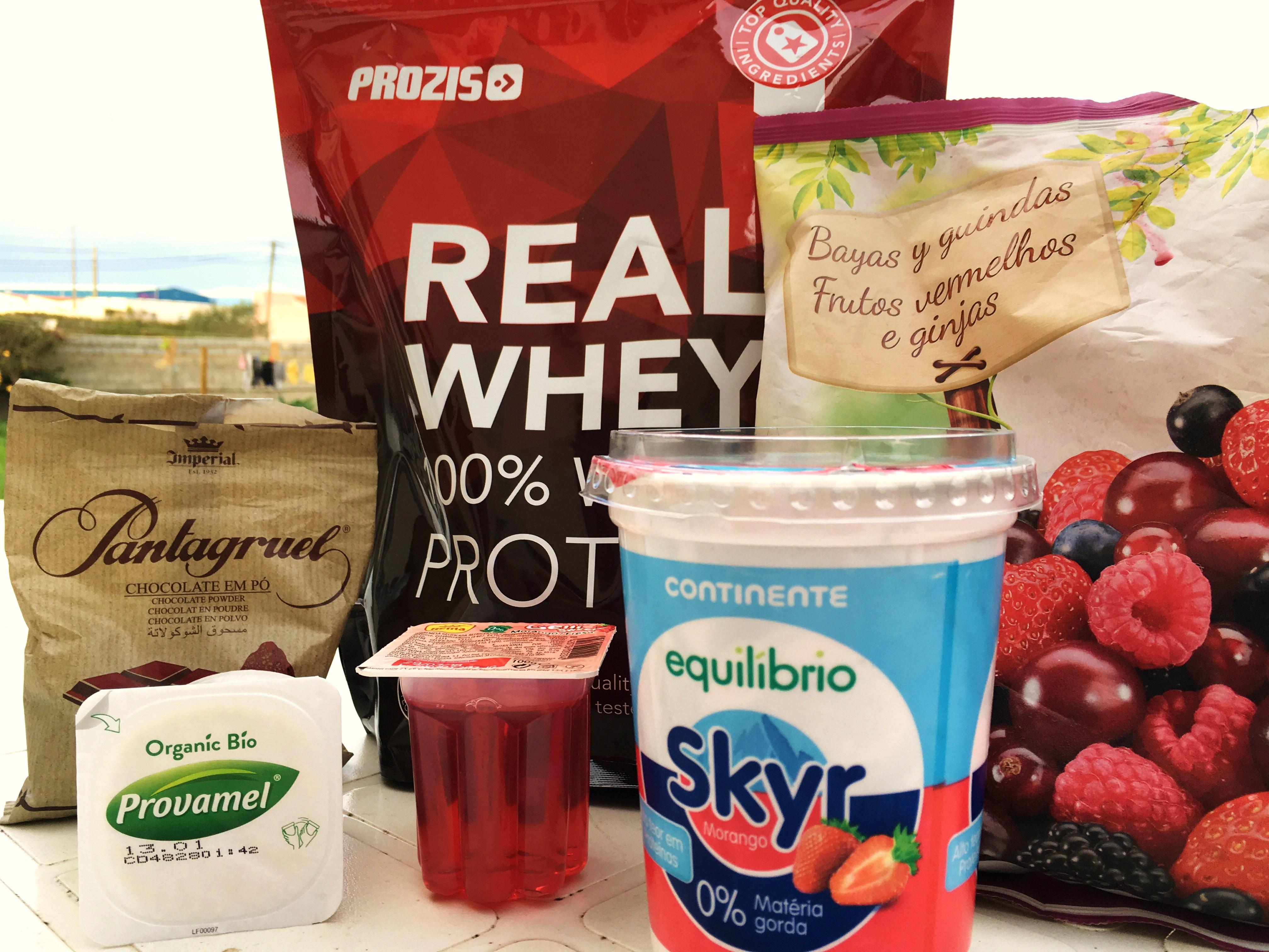 ingredientes gelado de morando para perde de peso