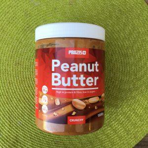manteiga de amendoim panqueca de baunilha
