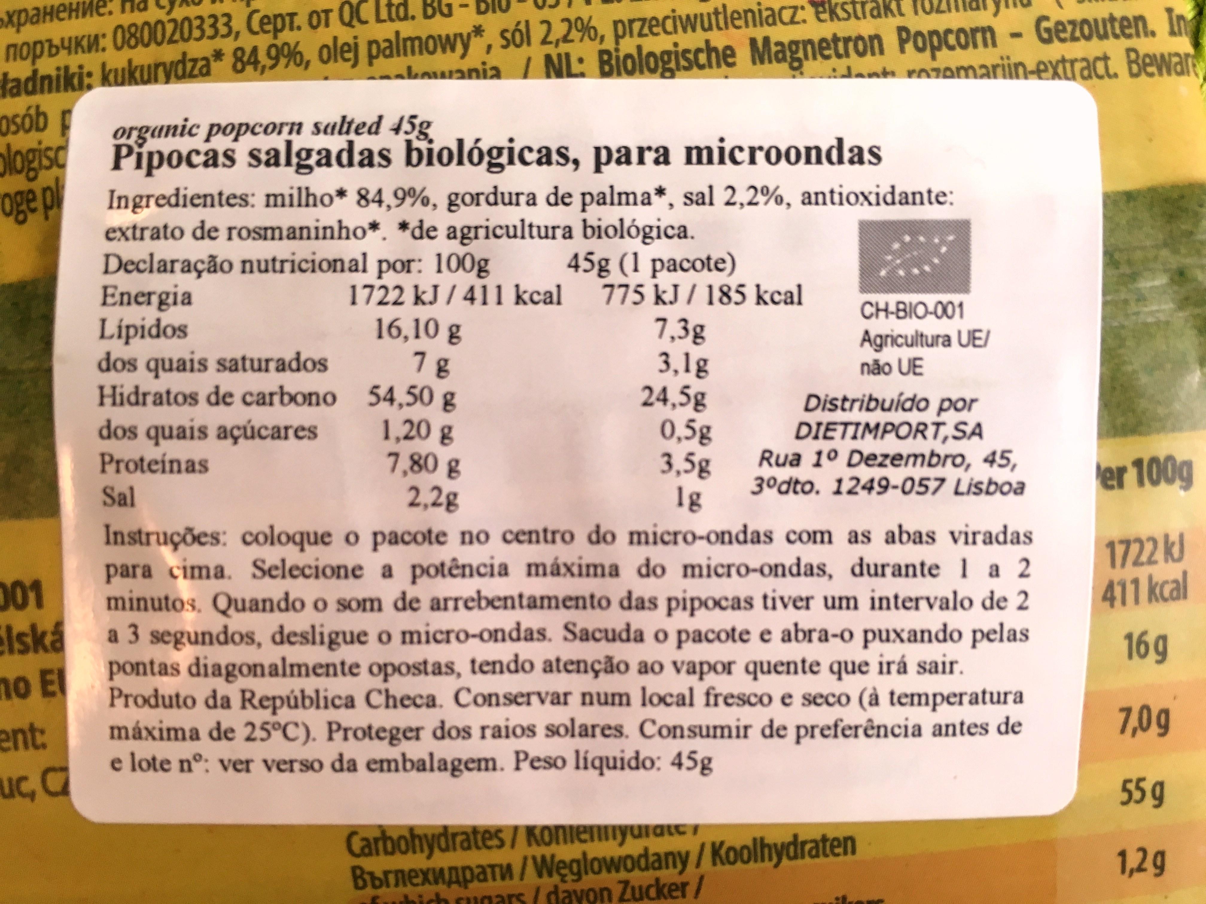 kcal koolhydraten