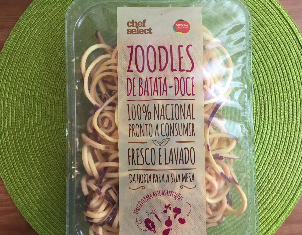 zoodles batata doce
