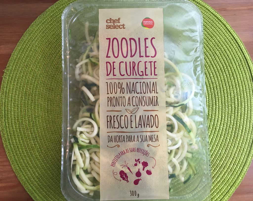 zoodles courgettes