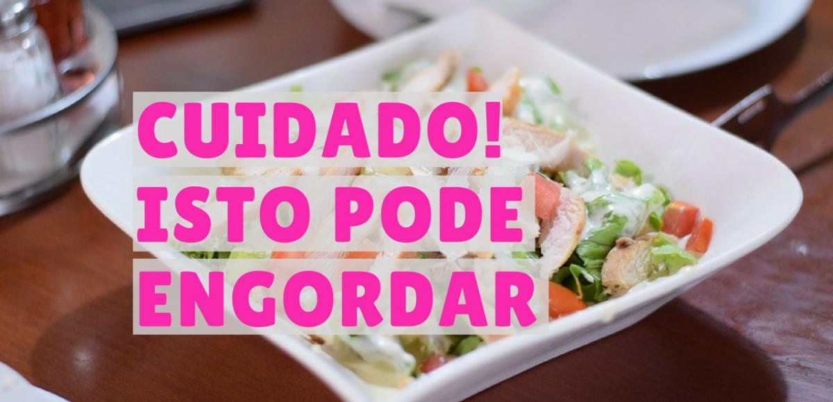 4 alimentos fit que engordam