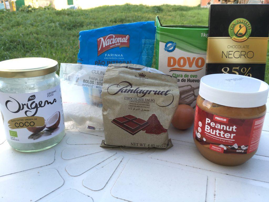 brownies de chocolate ingredientes