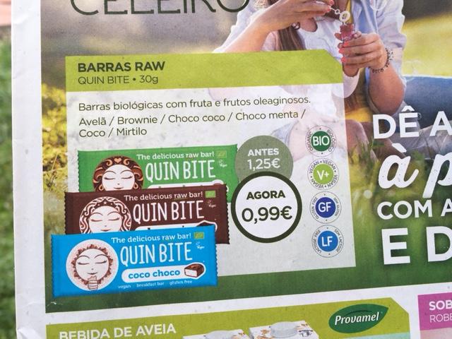 barritas raw - celeiro promoções