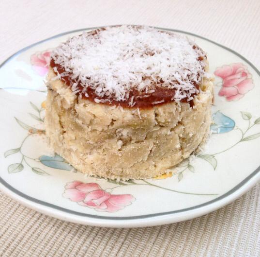 bolo de caneca de coco