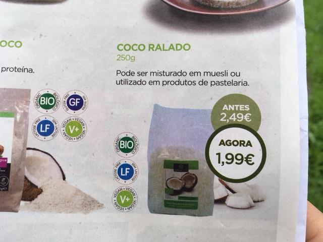 coco ralado - celeiro promoções