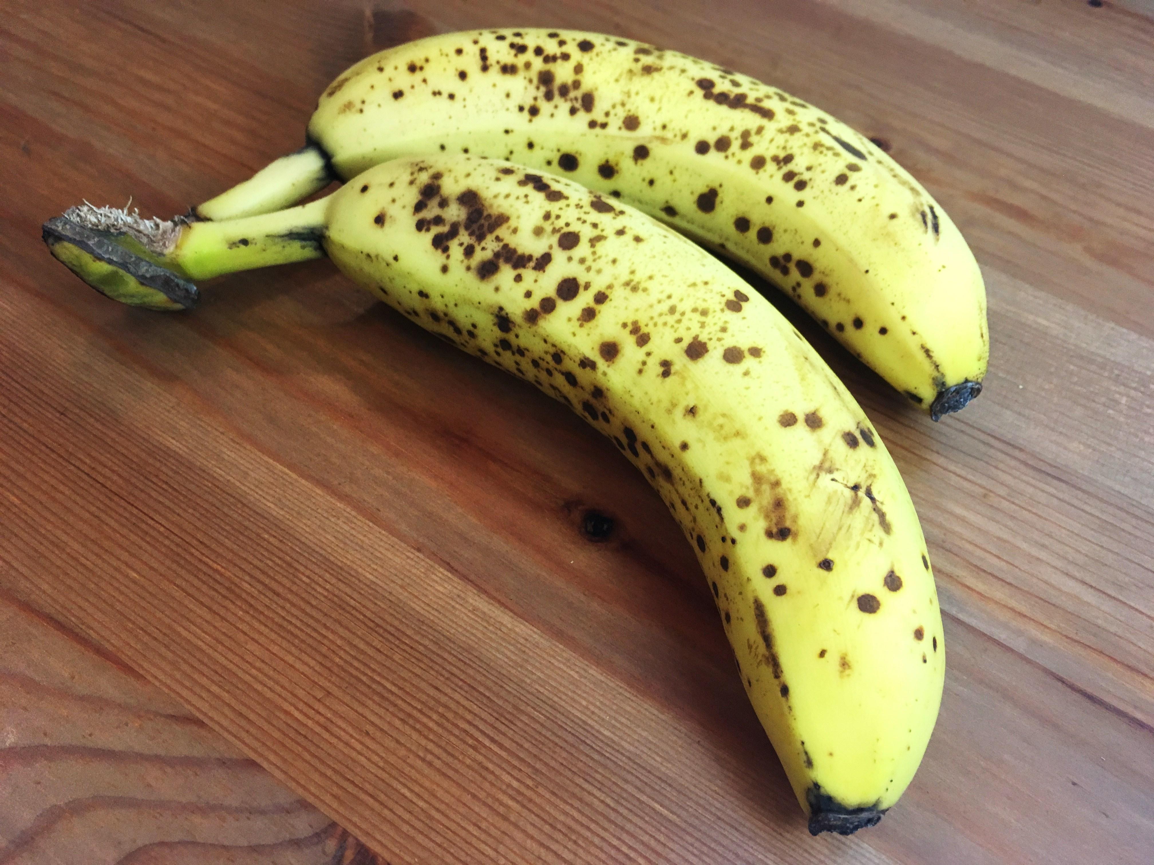 como conservar bananas - maduras