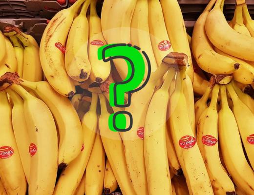 como conservar bananas por mais tempo