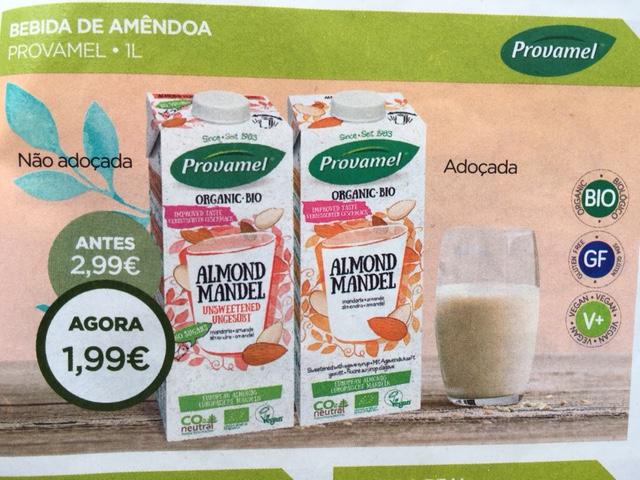 leite de amendoa - celeiro promoções
