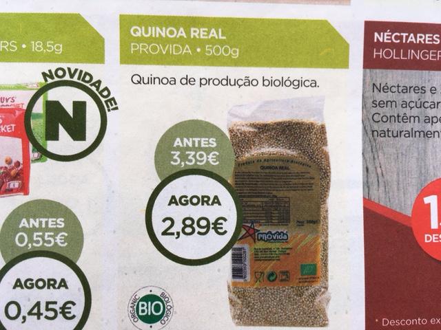 quinoa - celeiro promoções