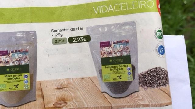 sementes de chia - celeiro promoções