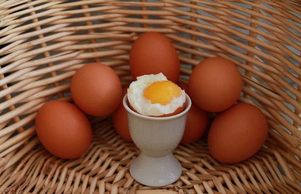 snacks para o trabalho ovos