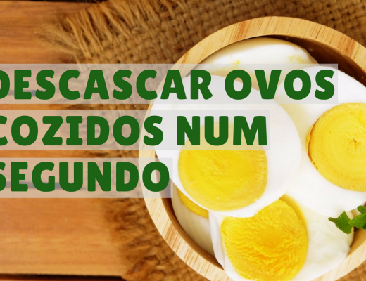 descascar ovos cozidos