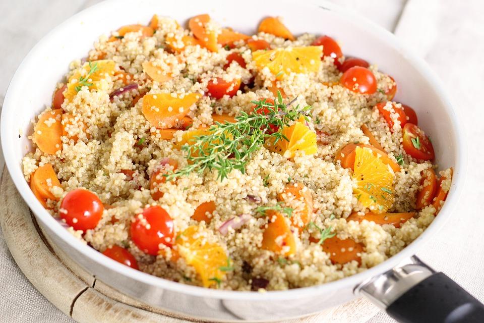 hidratos para comer - quinoa