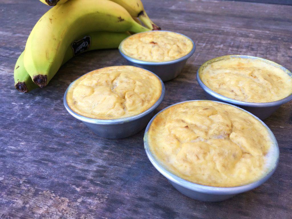 queques fofos de banana