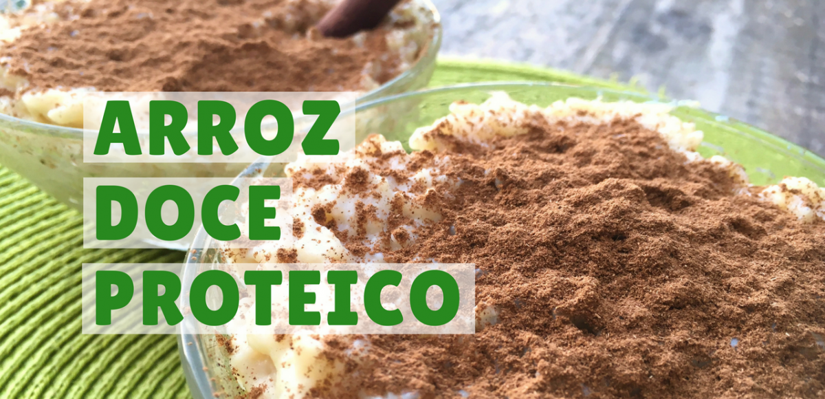 arroz doce proteico