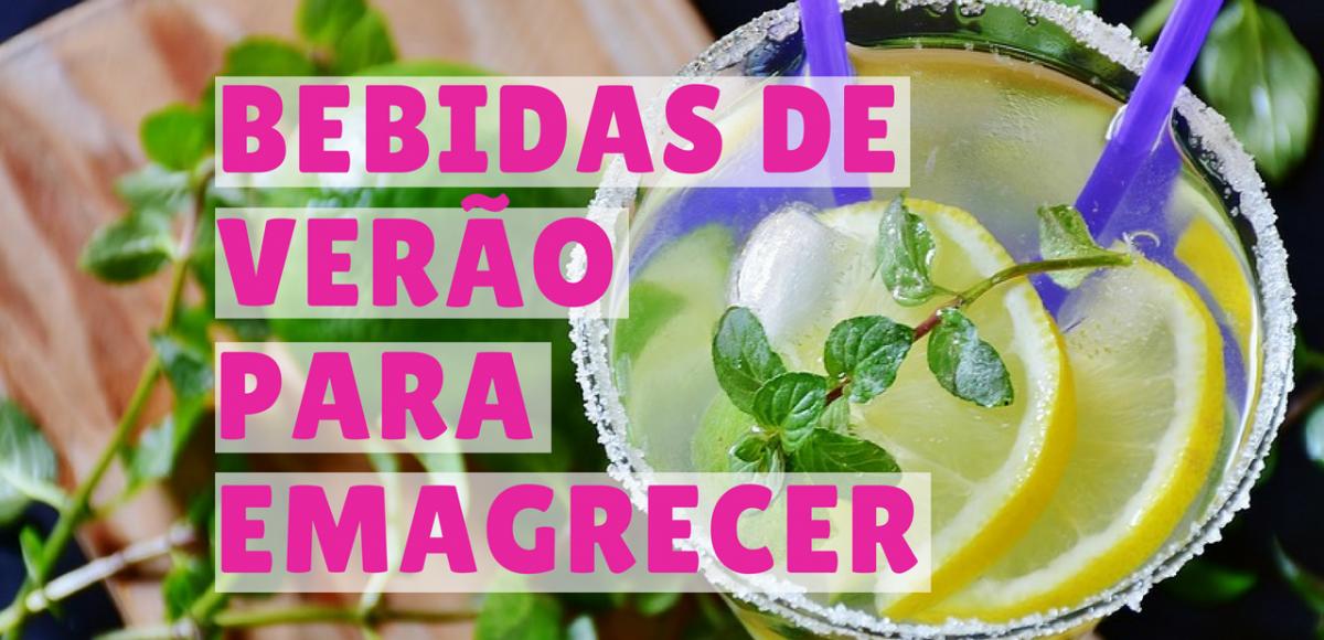 4 bebidas de verão para emagrecer