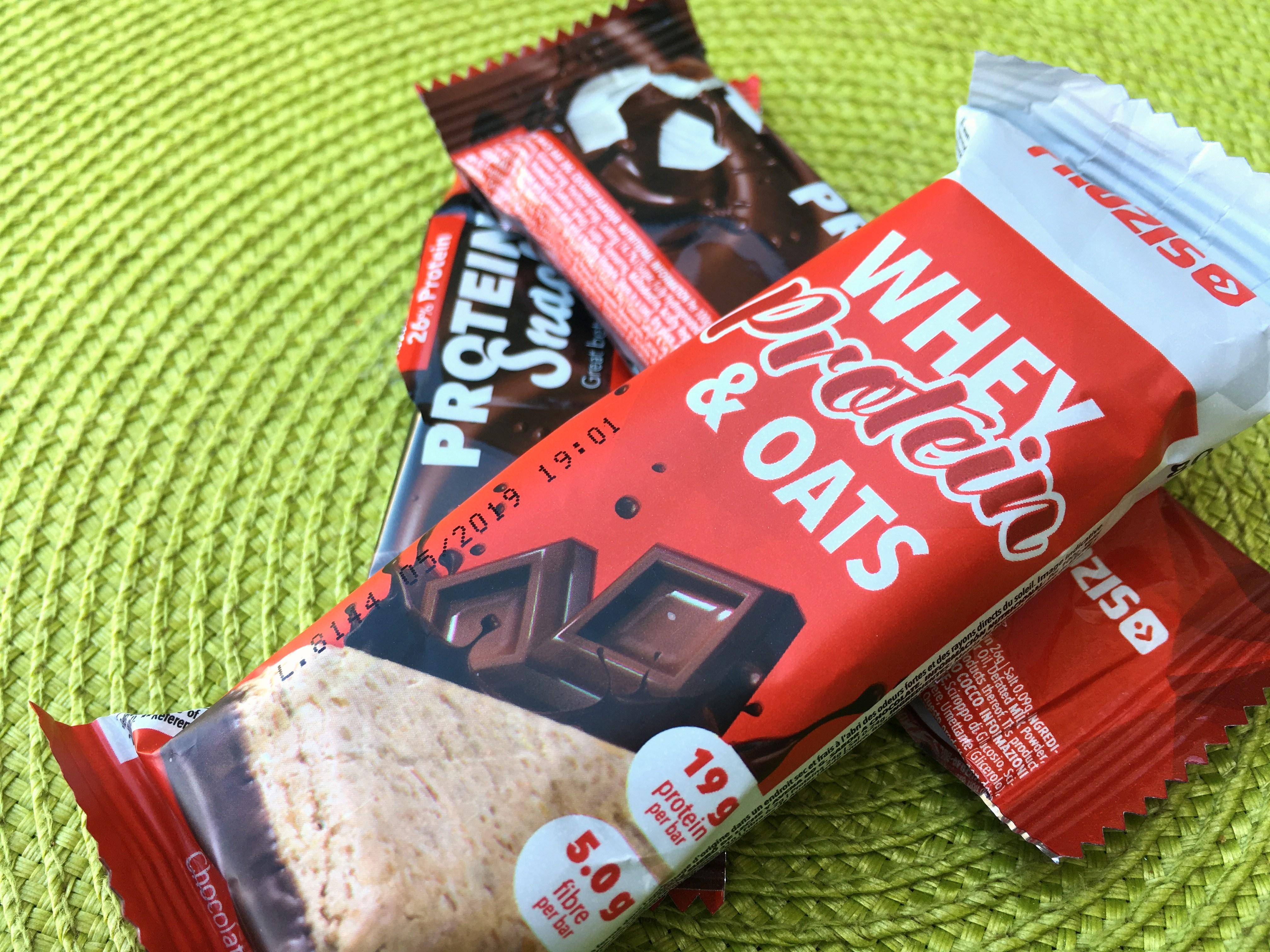 Barras Proteicas de Chocolate - barras prozis