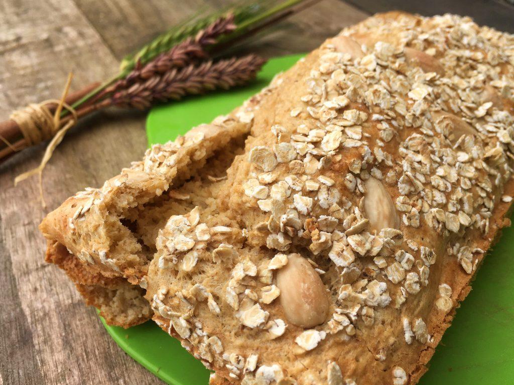 pão low carb de amendoa 1