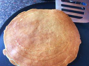 crepe proteico de maçã e canela - crepeira2