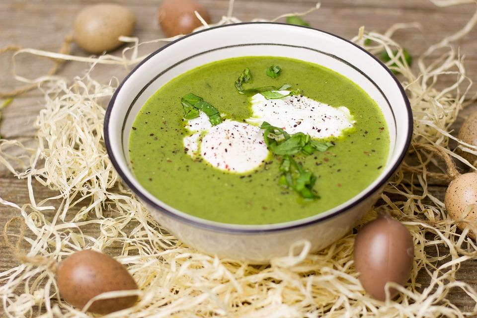 jantar sem hidratos - sopa verde
