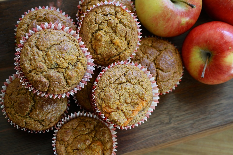 receita flocos de aveia - muffins
