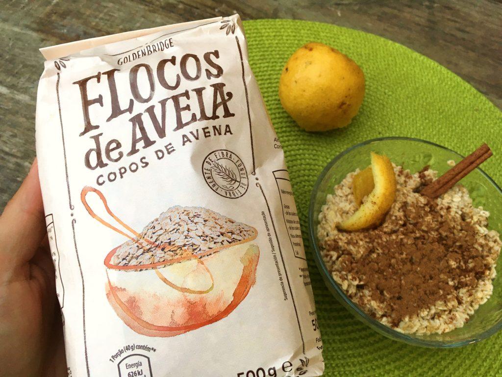 arroz doce de aveia - flocos