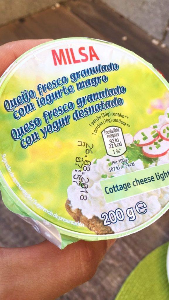 o melhor queijo em dieta - milsa