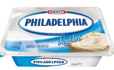 o melhor queijo em dieta - philadelphia