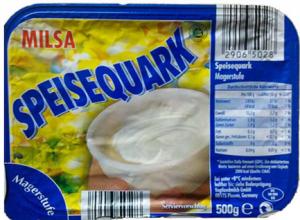 o melhor queijo em dieta - speisequark