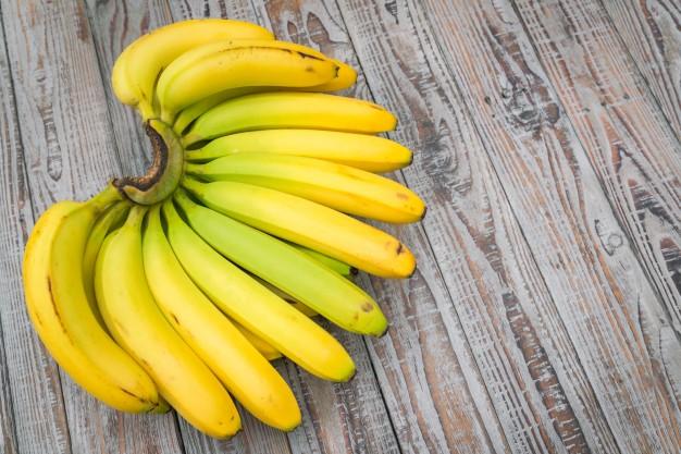 substitutos de ovos - banana