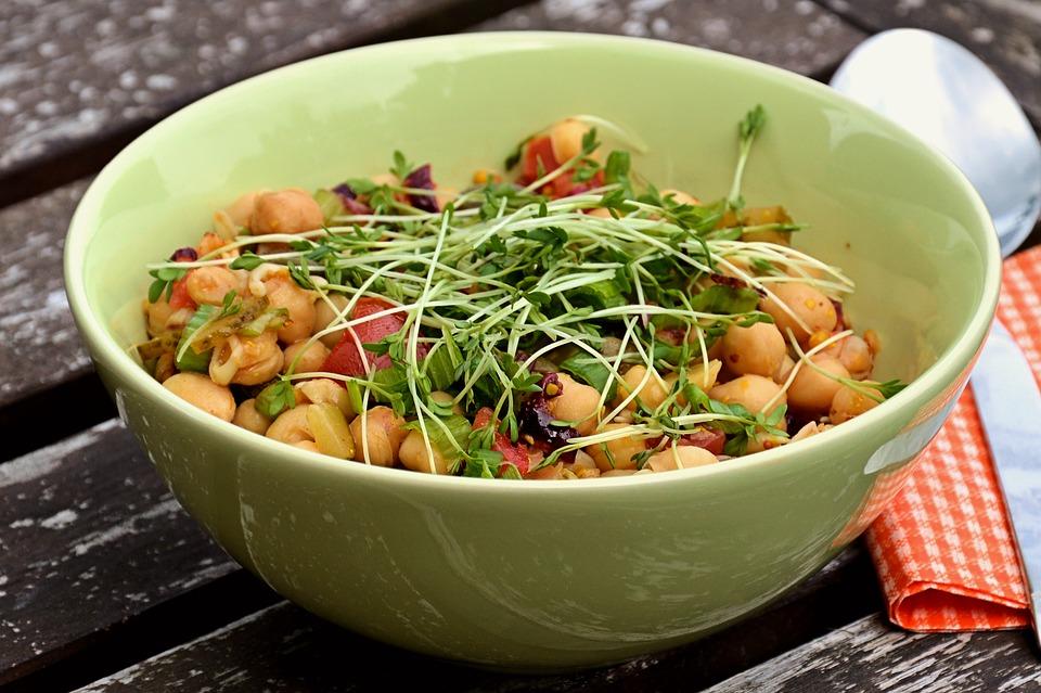 Fontes de proteína vegetal - grão