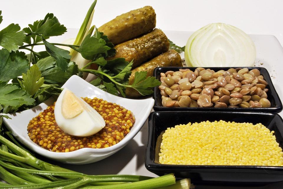 fontes de proteína vegetal - lentilha