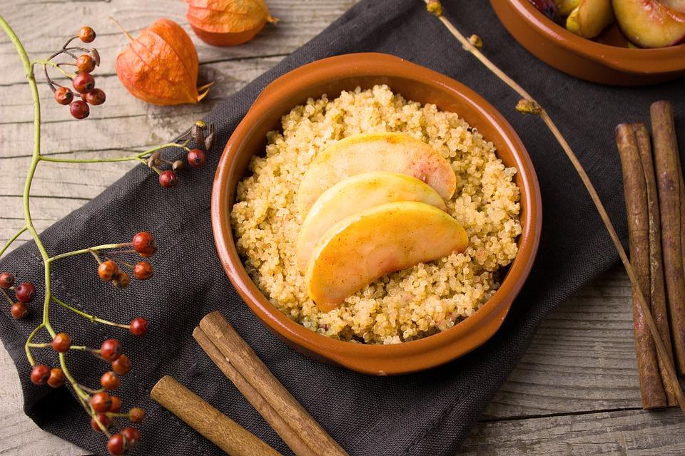 fontes de proteína vegetal - quinoa