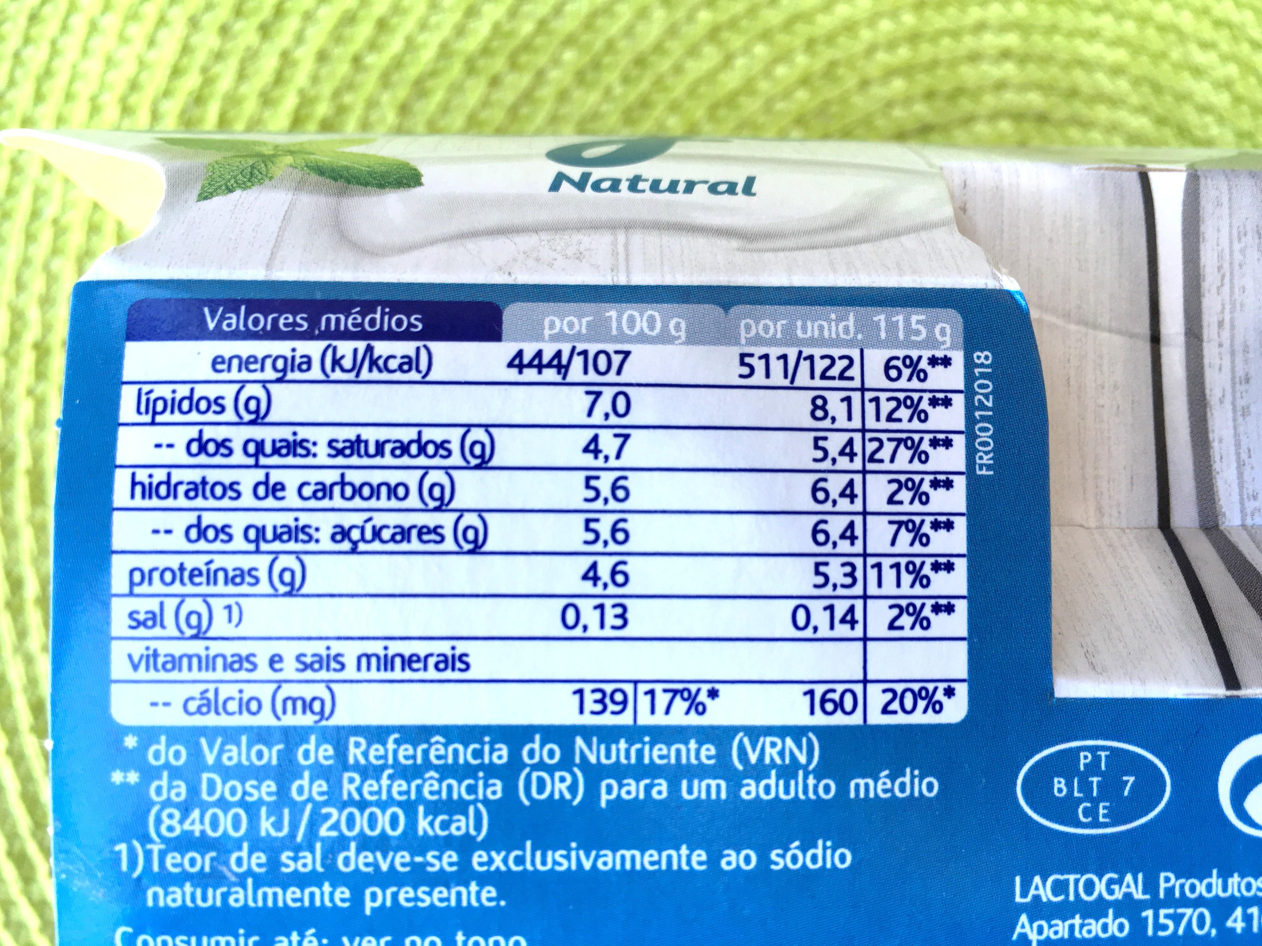 mimosa iogurte grego - nutrição