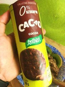 papas de aveia de chocolate - bolachas
