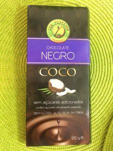 papas de aveia de chocolate - chocolate negro