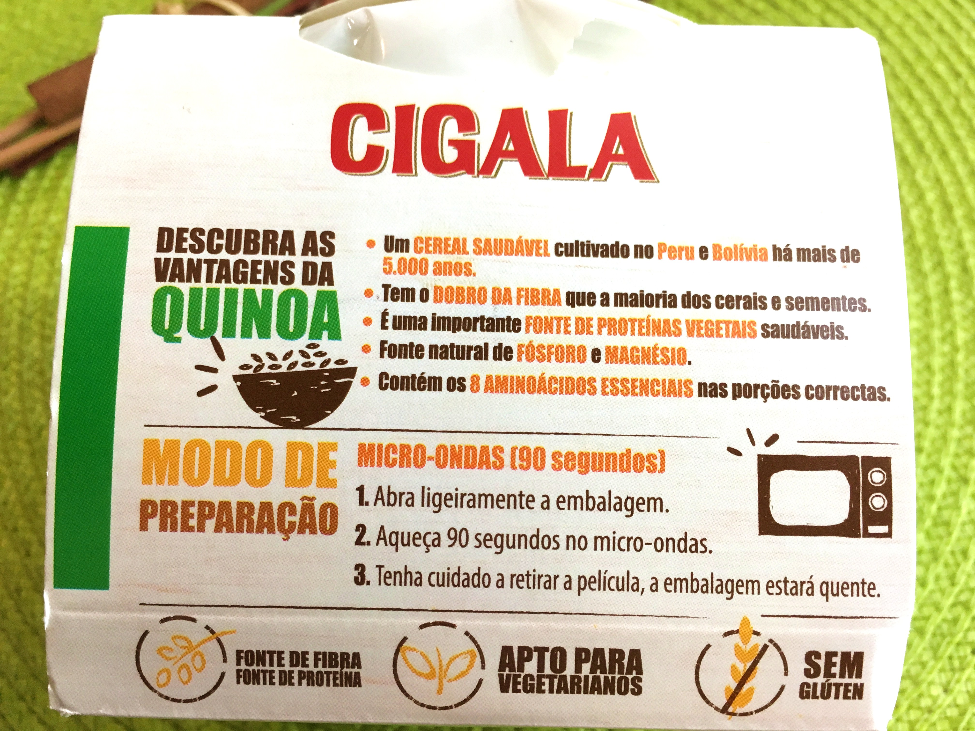 cigala benefit