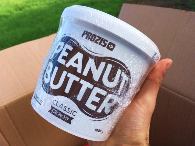 encomenda prozis manteiga de amendoim