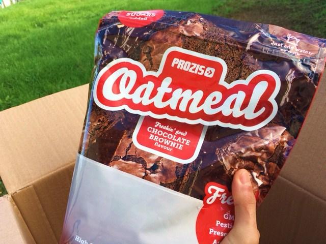 encomenda prozis oatmeal