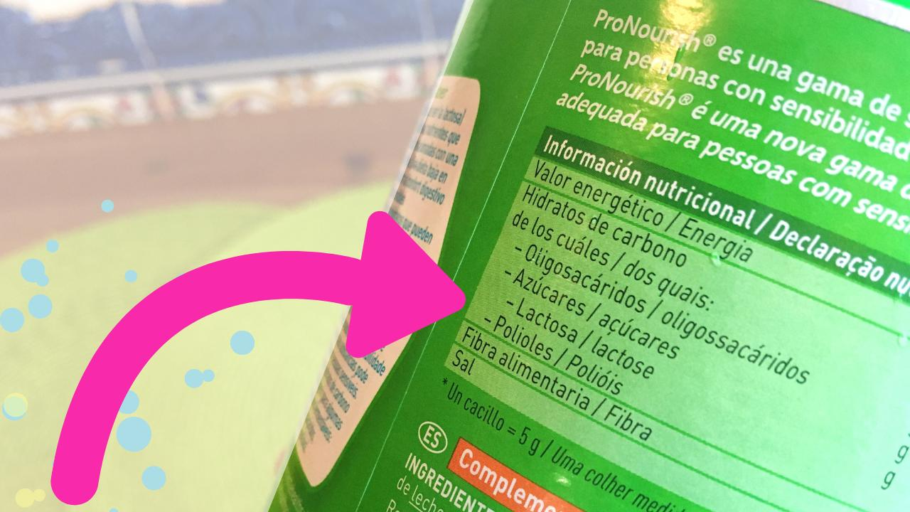 informação nutricional, como ler os rótulos