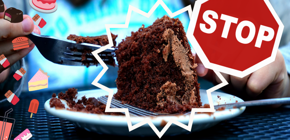 parar de comer em excesso