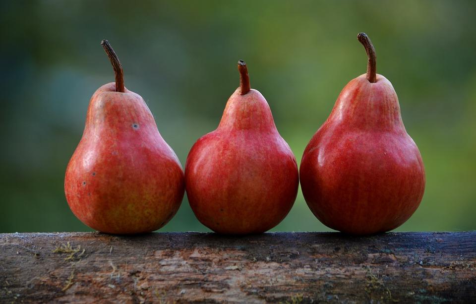 Frutas Com Menos Calorias Peras