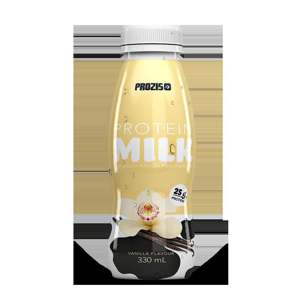 leite proteico de baunilha